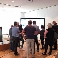 Präsentation Digitale Tafel in Leipzig