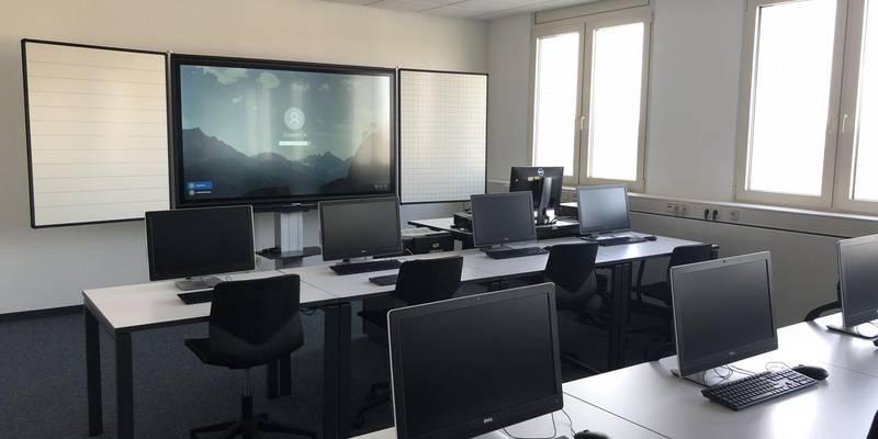 Schulungsraum Geschäftsstelle Chemnitz