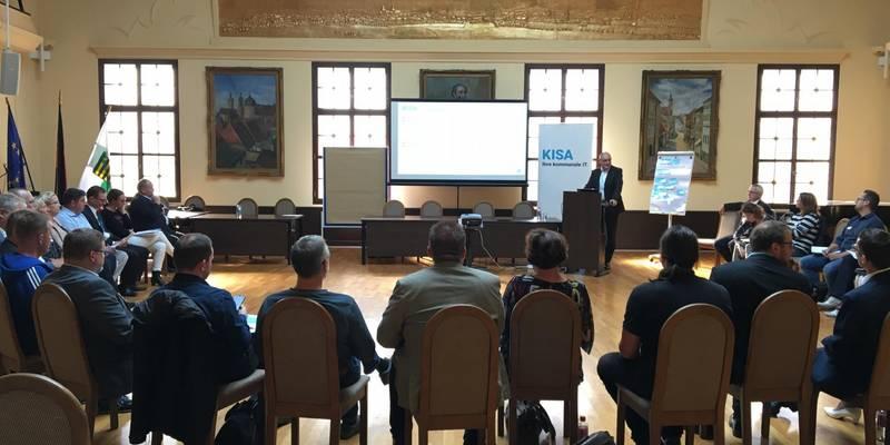 KISA Regionalforum - Begrüßung durch Geschäftsführer Andreas Bitter